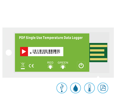 Single Use Temperature Humidity Logger